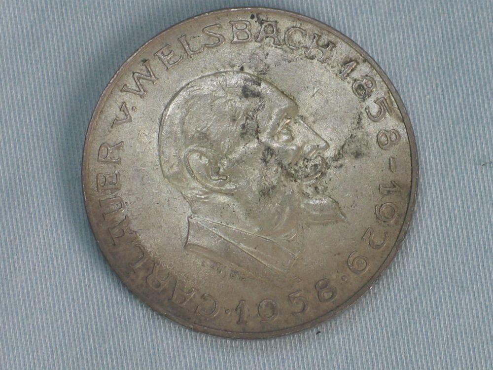 Delgrey Edle Metalle Münzen 25 Schilling österreich Carlauer V