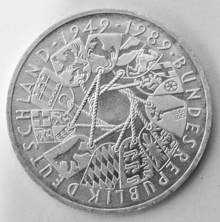 Delgrey Edle Metalle Münzen 10 Dm Gedenkmünze 40 Jahre