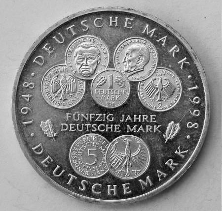 Delgrey Edle Metalle Münzen 10 Dm Gedenkmünze 50 Jahre