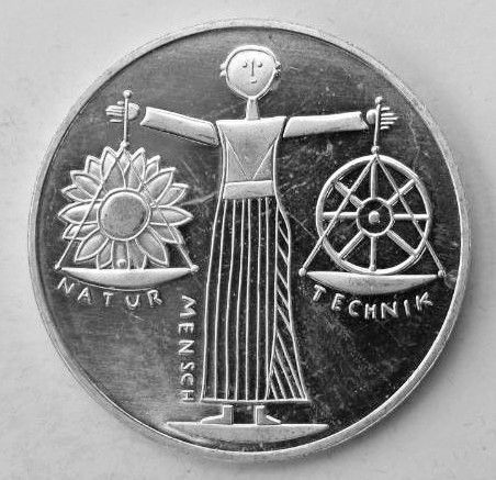Delgrey Edle Metalle Münzen 10 Dm Gedenkmünze Expo 2000 Aus