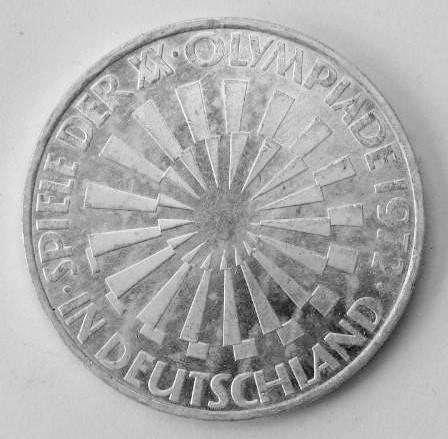 Delgrey Edle Metalle Münzen 10 Dm Gedenkmünze Olympia Spirale