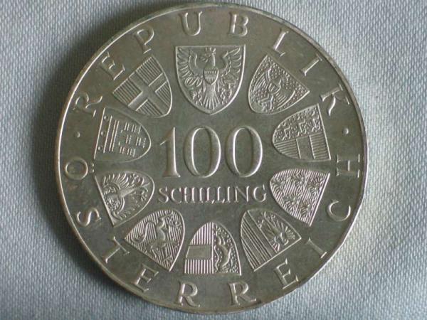 Delgrey Edle Metalle Münzen 100 Schilling österreich Johann